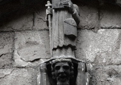 Medieval Architectural Detail, Alnwick Castle, Northumberland
