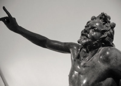 Drunken Satyr, National Archaeological Museum of Naples